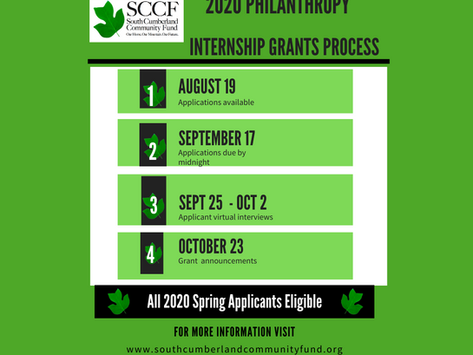 Philanthropy Internship Grant Application Available Now to Spring Cycle Grant Participants
