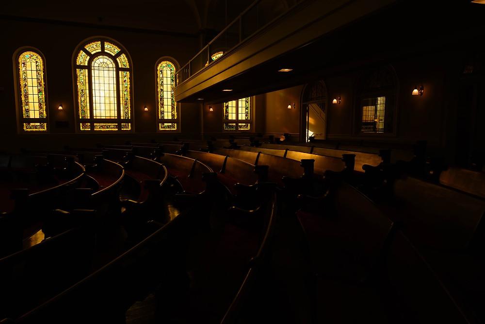 Page Memorial United Methodist church in Aberdeen, NC.