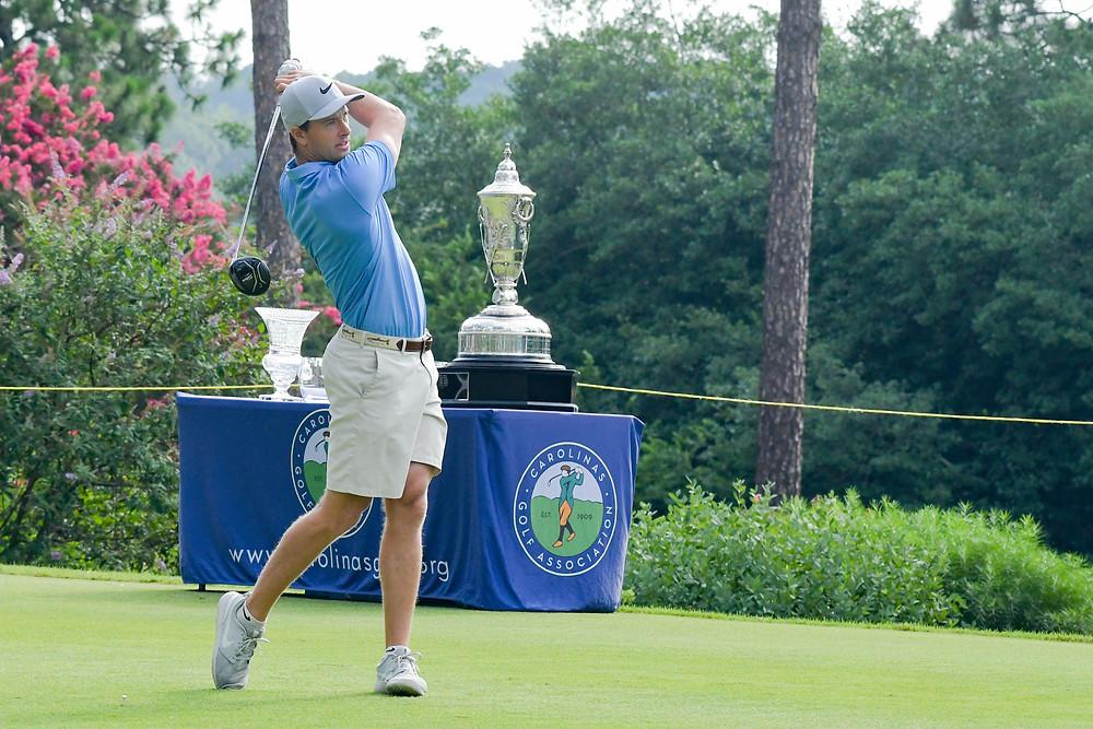 Preyer Fountain of Raleigh Pinehurst Golfer John Patota