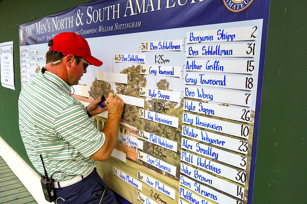 Brian Fahey, Director of Tournament Operations, Pinehurst Resort & Country Club