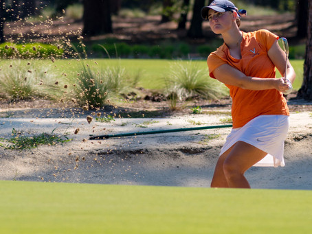 UVA golfer looks to improve on last year's 2nd place finish
