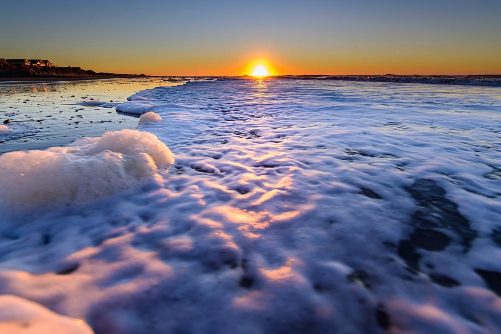 Holden Beach, North Carolina Sunrise. January 1, 2020