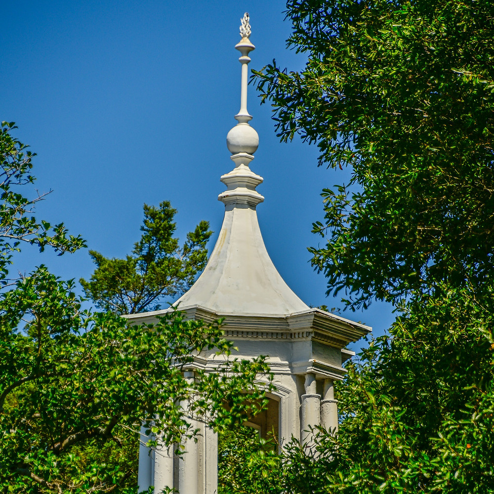 Find this cupola at the Holly Inn in the historic section of the Village of Pinehurst.