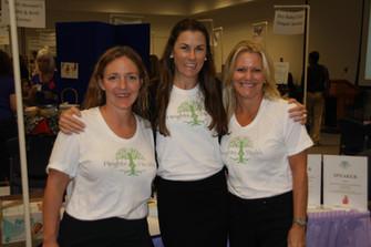 Cheryl, Heather, & Laura at a Birth Fair