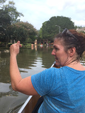 Cheryl assisting after Hurrican Harvey