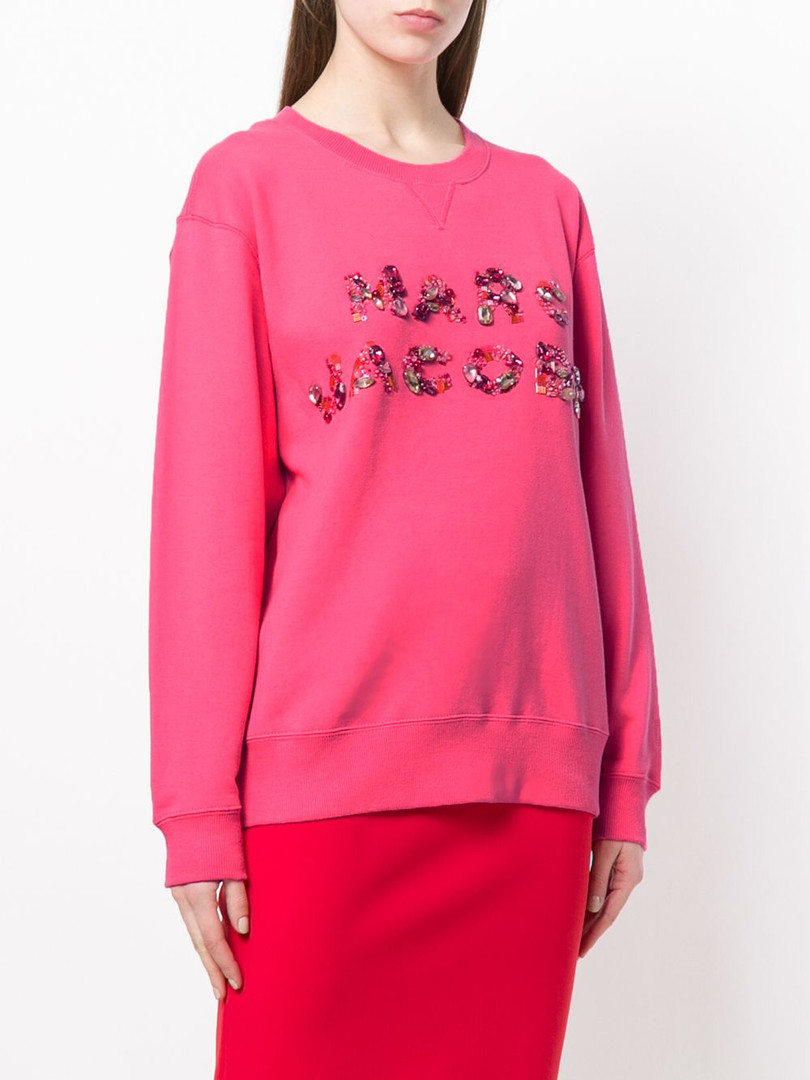 Marc Jacobs emroidered jumper - assisted with embroidery sample development