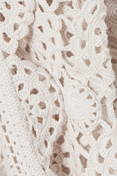 Marc Jacobs crochet cardigan - assisted with crochet sample development and garment development