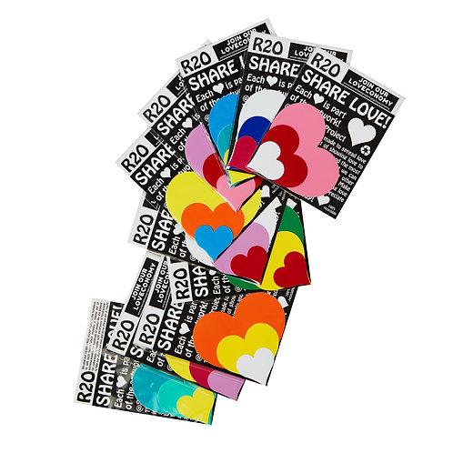 Secret Love Project Sticker Packs X 20