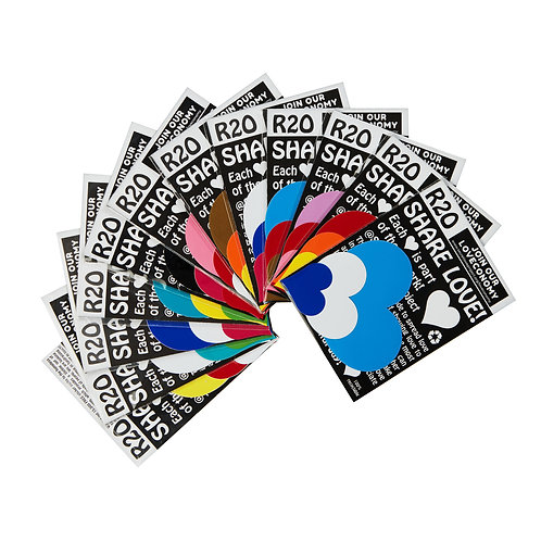Secret Love Project Sticker Packs X 10