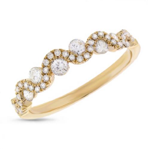 'WAVY' Diamond Ring