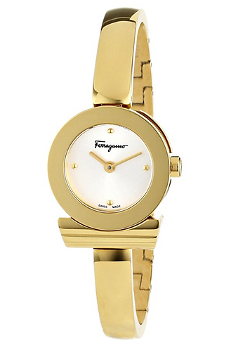 FERRAGAMO GANCINO WATCH GOLD
