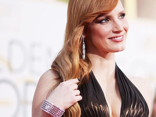 Jessica Chastain Drips in Diamonds