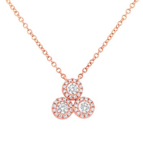 'THREE ROUNDS' Diamond Necklace