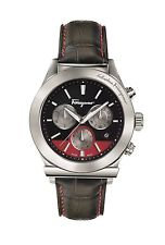 FERRAGAMO '1898' WATCH LEATHER/RED