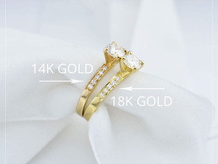 Jewelry Lessons: 14K vs. 18K Gold