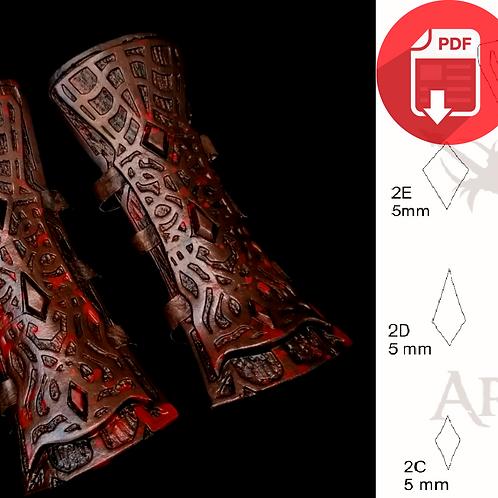 BloodBorne - Arm Armo(Molde)