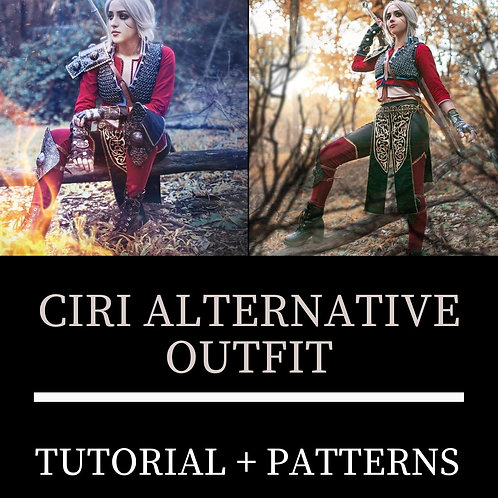 Ciri Look Alternativo (Moldes e Tutorial)