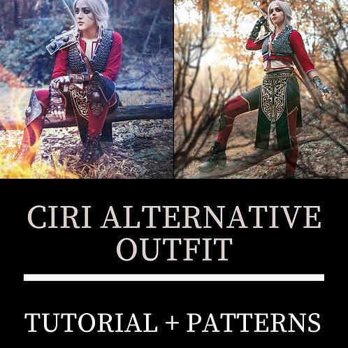Ciri Look Alternativo (Moldes e Tutorial)