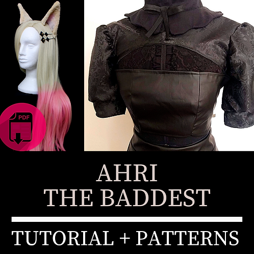 Ahri Book - The Baddest (Molde e Tutorial)