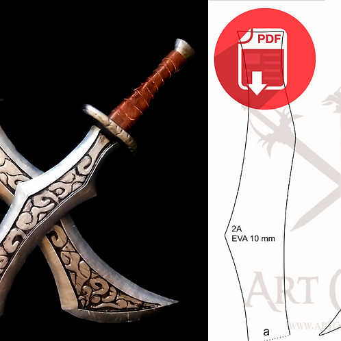 Katarina Blades - League of Legends (molde)