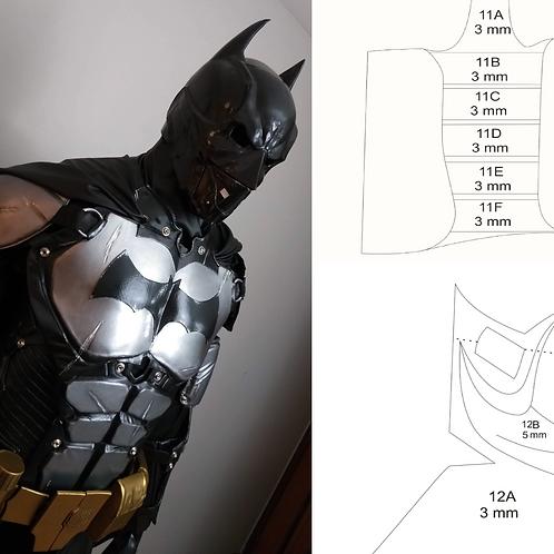 Molde Cosplay - Batman