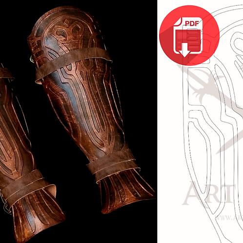 BloodBorne - Leg Armor(Molde)