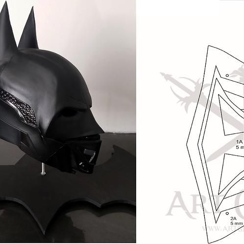 Batman Helmet - Arkham Night