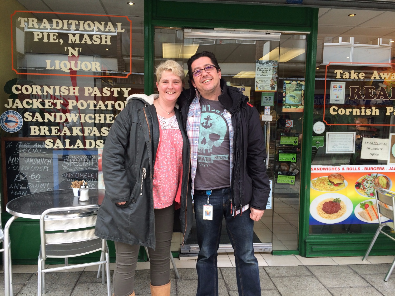 Pie and Mash with Nik - top nosh!