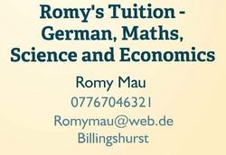 Romy's Tuition