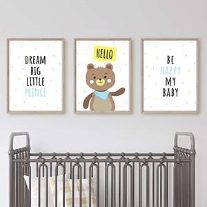 Boys Nursery Wall Arts