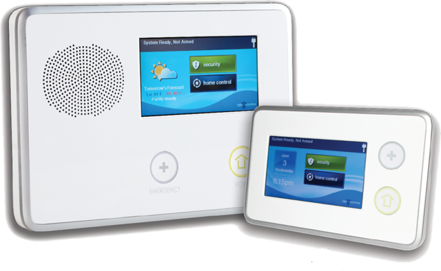 Touch Screen Alarm Systems