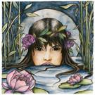 The Lotus-Wreathed Naiad