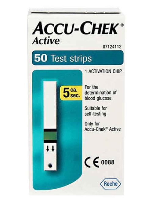 Accu- Chek Active (50 Test Strips)