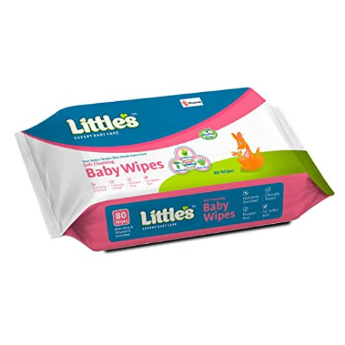 Littles Baby Wipes (80 wipes)