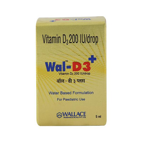 Wal D3 plus Oral Solution-5ml