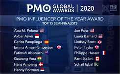Joe Pusz Semi-Finalist for 2020 PMO Influencer of the Year Semi.jpeg