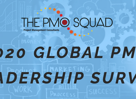 2020 Global PMO Leadership Survey from THE PMO SQUAD Launches today!