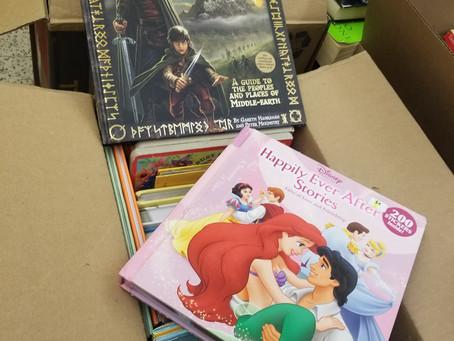 Used books & DVD sale at Movie Night