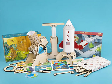10 Best Educational and Craft Subscription Box for Kids