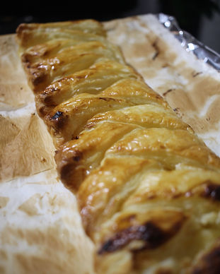 Lemon Curd Puff Pastry