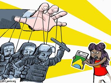 LUTA(R) PELO ESTADO DEMOCRÁTICO DE DIREITO
