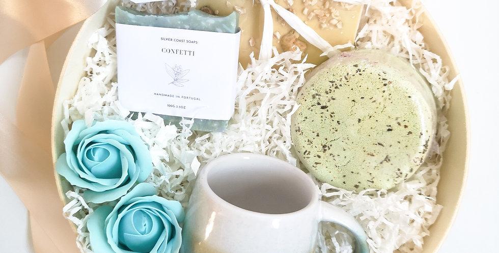 "Gift Box ""Bath time - Blue"""