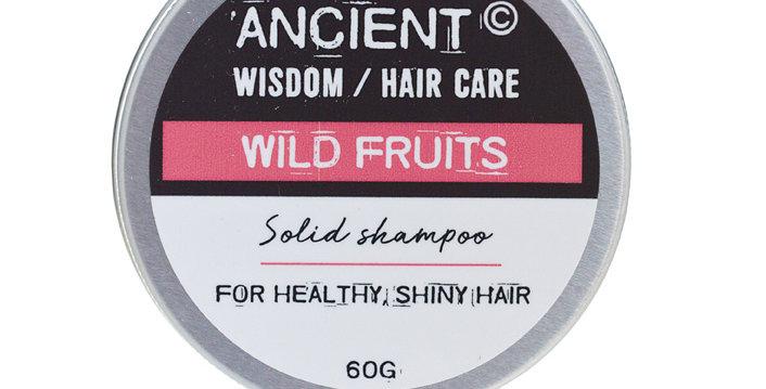 Shampoo Sólido Lata 60g - rosa frutado
