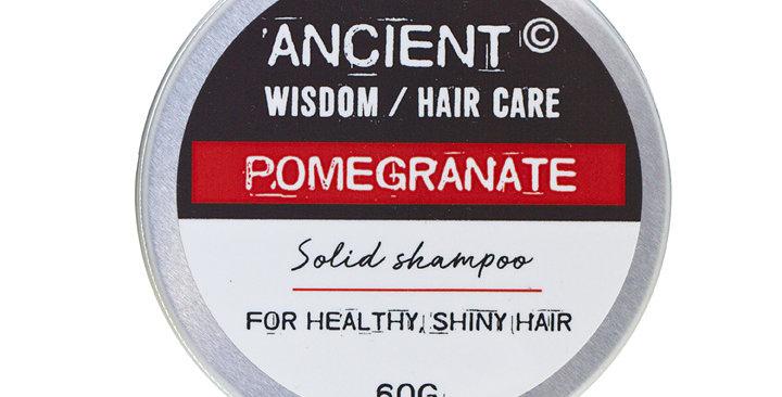 Shampoo Sólido Lata 60g - Romã