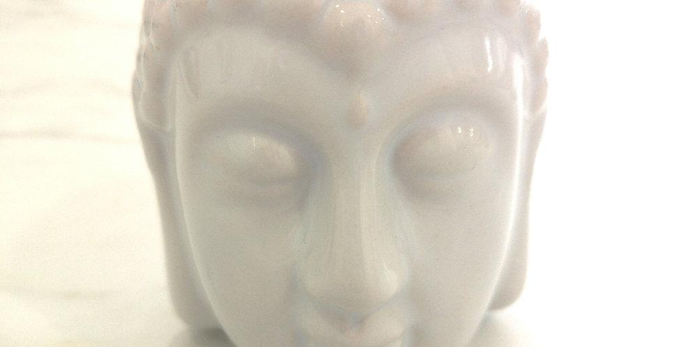 Queimador de Óleo Buda - branco