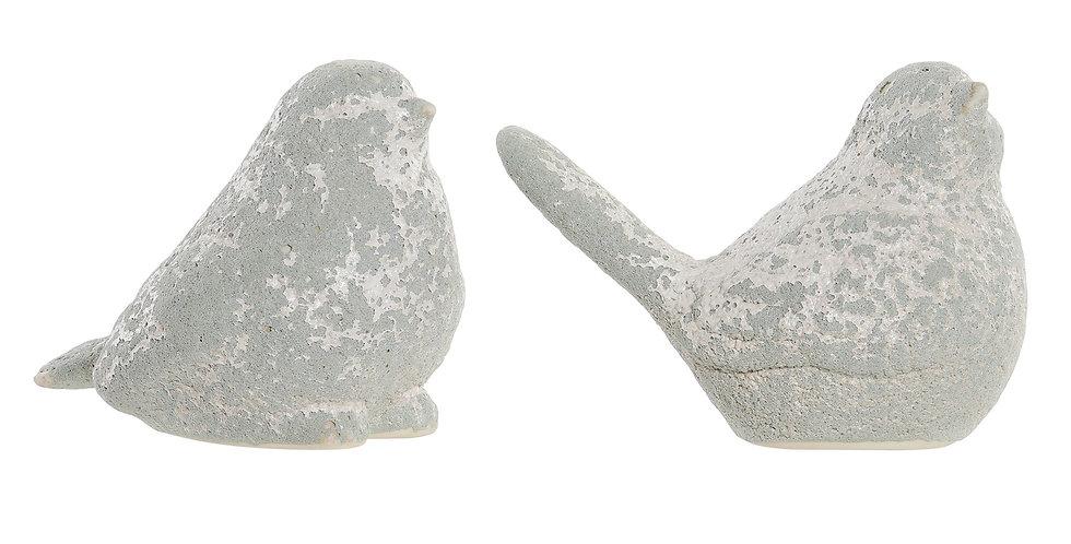 Figura Pássaro 13,4X8X10,  2 modelos
