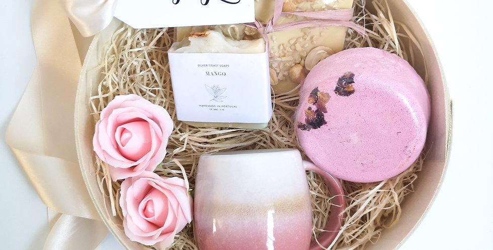 "Gift Box ""Bath time - Pink"""