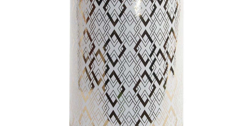 Mesa auxiliar porcelana Geométrico 34X34X46