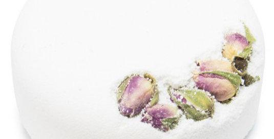 Bath Bomb   Fizz Floral Rosa e Ylang Ylang
