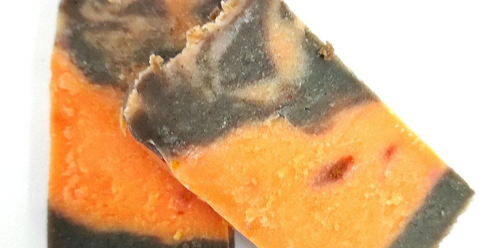 Sabonete Artesanal - Laranja e Canela